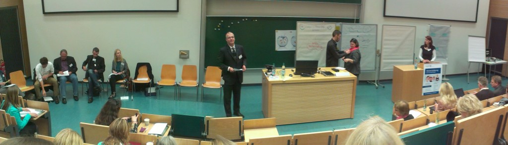 """""""Aquarium"""" als Konferenzmethode im Hörsaal - Jahrestagung der DGWF 2013 an der Universität Rostock"""