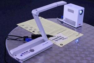 Dokumentenkamera im Einsatz